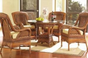 Выбираем современную мебель из лозы для дома или дачи