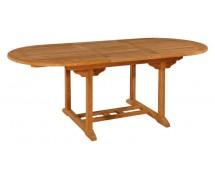 Тиковый стол TE-150T овальный