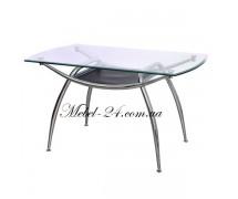 Стол 936 кухонный стекло+хром АМФ