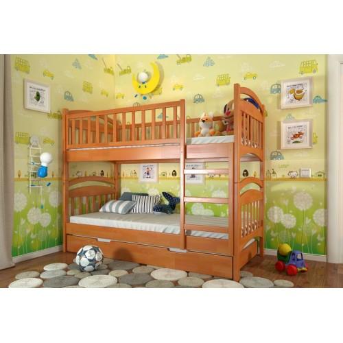 Двухъярусная кровать Смайл