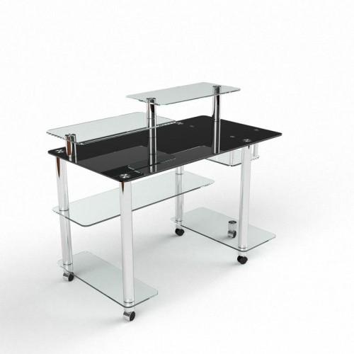 Компьютерный стол Альфа стекло