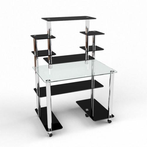 Компьютерный стол Калипсо стекло