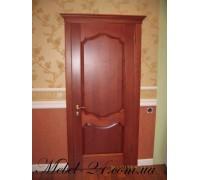Одинарная дверь из дерева бук
