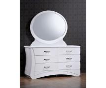 Будуарный столик с зеркалом Эвита