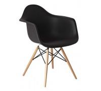 Кресло Прайз чёрный (ольха)