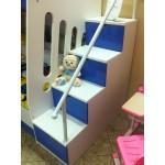 """Детская """"Real"""" Embawood набор кровать и лестница"""