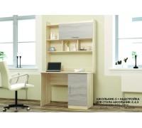 Письменный стол Школьник 5 с надстройкой