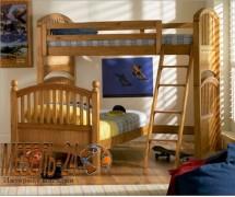 Кровать Маугли двухъярусная