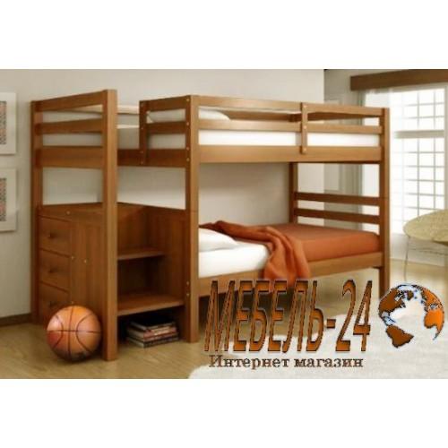 Кровать двухъярусная Шериф-1
