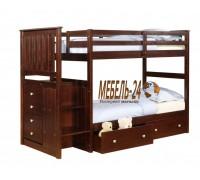 Кровать двухъярусная Шериф-3