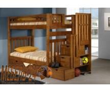 Кровать двухъярусная Шериф-6