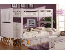 Кровать двухъярусная Шериф-8