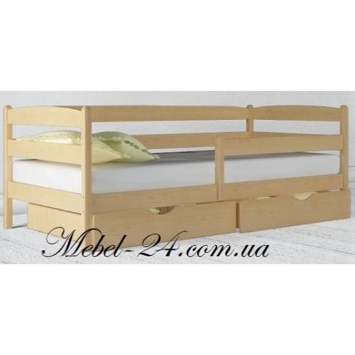 Кровать Марио Люкс из дерева ясен