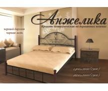 Кровать Анжелика ножки дерево