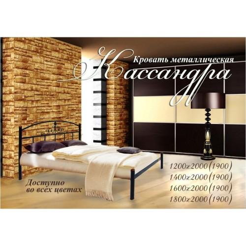 Кровать Кассандра из металла