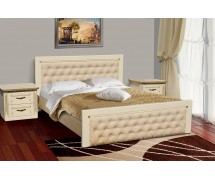 Двуспальная кровать Freedom слоновая кость