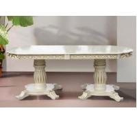 Стол обеденный Монарх слоновая кость