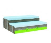 Кровать двойная с ящиком Hobby K