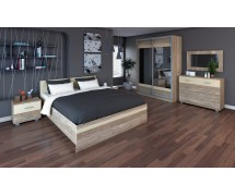 Спальня Miran со шкафом купе 1800