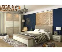 Спальня Милана Дуб крафт серый