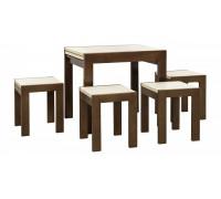 Стол раскладной Твист и стулья  4 шт