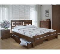 Кровать Пальмира Люкс Плюс с ящиками