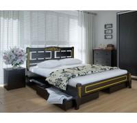 Кровать Пальмира Люкс с ящиками