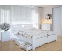 Кровать двуспальная Авила с ящиками