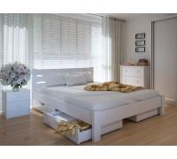 Кровать двуспальная Эко Плюс с ящиками