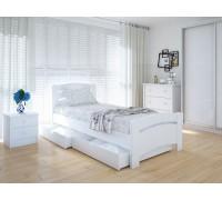 Кровать односпальная Грин Плюс с ящиками