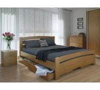 Кровать двуспальная Грин Плюс с ящиками