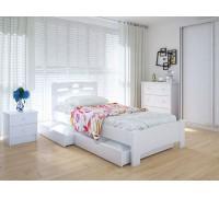 Кровать односпальная Кантри с ящиками