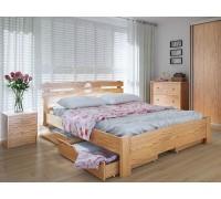 Кровать двуспальная Кантри с ящиками
