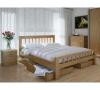 Кровать двуспальная Луизиана с ящиками