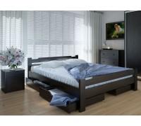 Кровать двуспальная Сакура с ящиками