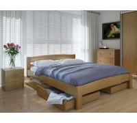 Кровать двуспальная Скай с ящиками