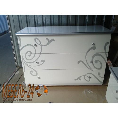Комод на 3 ящика Богема фото