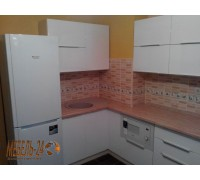 Кухня угловая МДФ фото Бровары