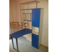 Компьютерный стол Антей синий фото