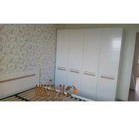 Шкаф 4д Бианко фото
