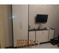 Шкаф 2Д и комод с фасадами МДФ фото