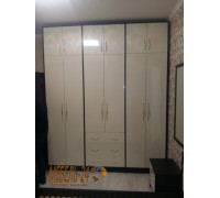 Шкаф распашной на заказ фасады МДФ фото