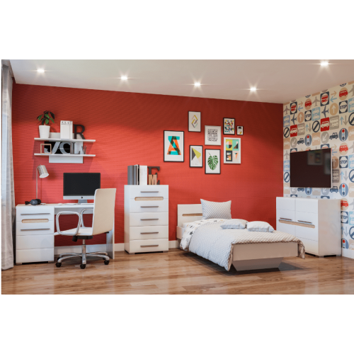 Детская комната Бианко Світ Меблів