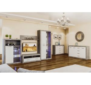 Модульная гостиная «Омега»: современный стиль и лаконизм
