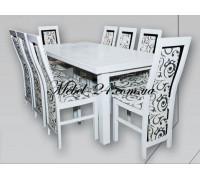 Стол Европа+стулья Карина комплект