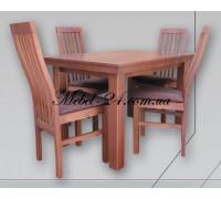 Стол Европа+стулья Премьэр комплект