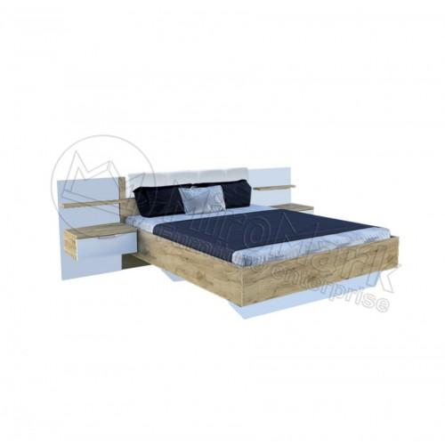 Кровать 1,6 Асти с тумбами
