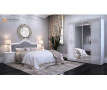 Спальня Луиза со шкафом 4Д