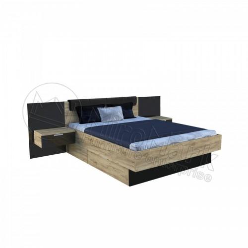 Кровать 1,8 Луна с тумбами