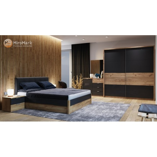 Спальня Рамона со шкафом купе 2м